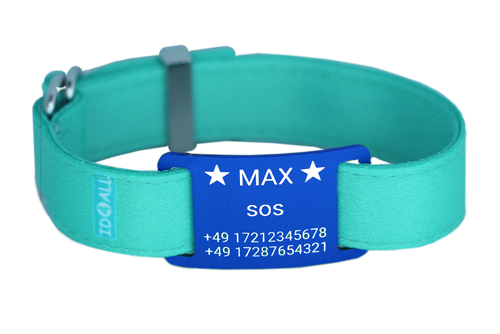 BAND-METAL-BLUE-AQUA